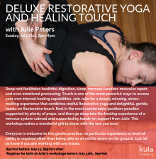 Restorative and Healing Touch